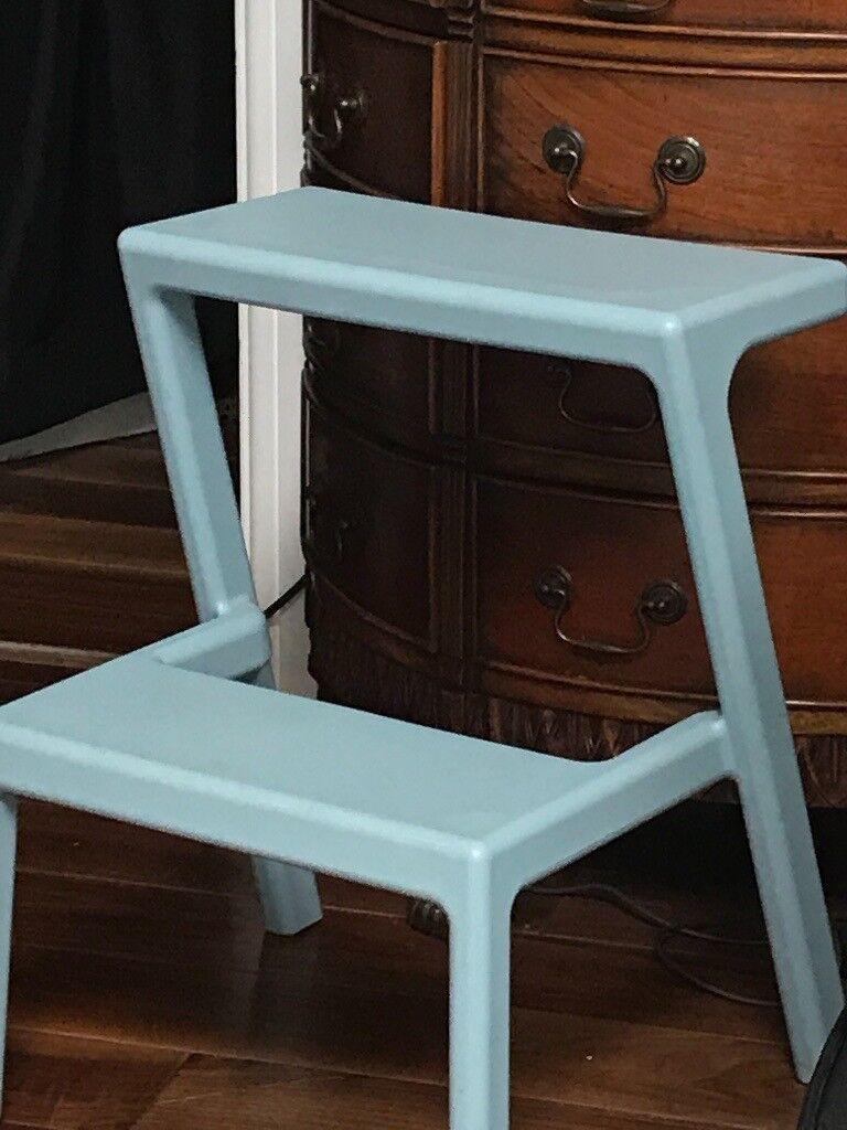 IKEA MÄSTERBY Step stool - DUCK EGG BLUE | in Harrogate, North ...