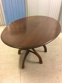 VINTAGE BEECH DINING TABLE - EXCELLENT CONDITION