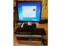 Fuji Esprimo E5710 ATI,Dual core Desktop,80GB HDD,1GB RAM,17-inch Monitor,Keyboard,Mouse & Monitor