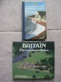 AA Illustrated Guide to Britain's Coast and Britain the Landscape Below - £4.00 EACH