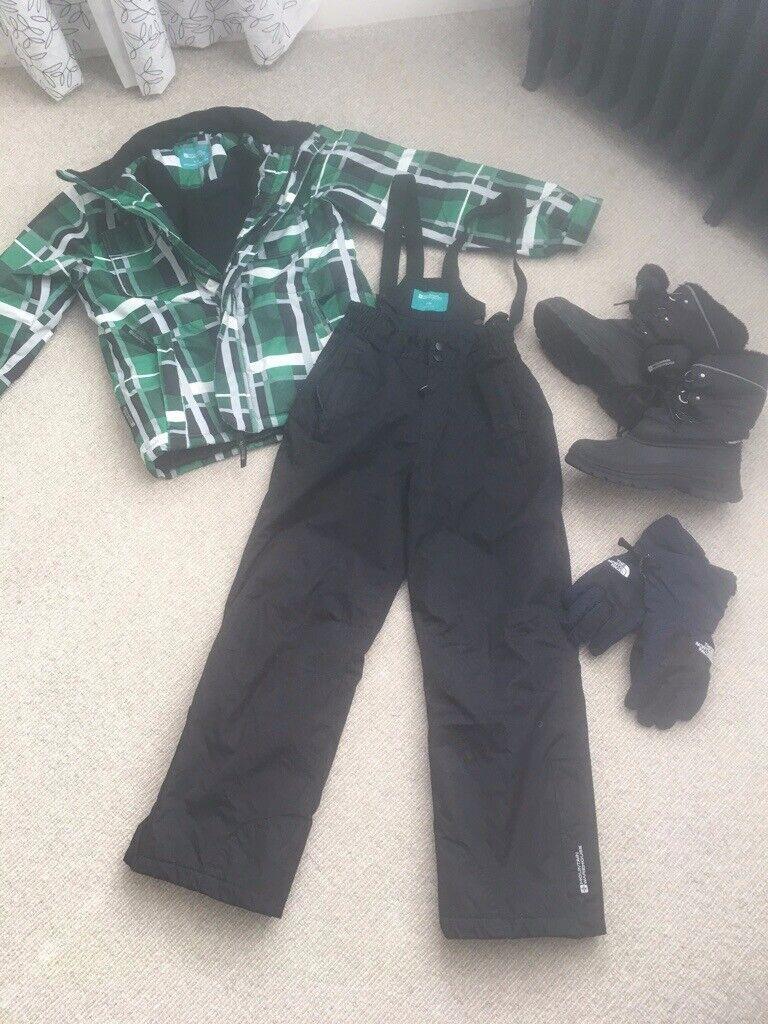 1b22b14a5 Kids ski clothing bundle age 10-12