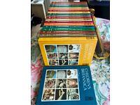 Children's encyclopaedia Britannica - full set of 20 books in great condition