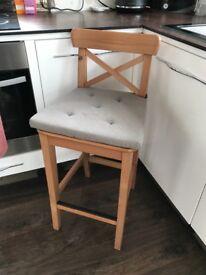 2 IKEA BAR STOOL/CHAIR