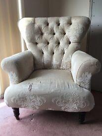 Chatsworth Cream Armchair