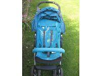 Babydesign Turquoise Pushchair