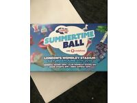 x 2 Capital summer time ball tickets GOLDEN CIRCLE!!