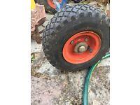 2 wheels - ideal for sack barrow / trolley / cart / truck / wagon