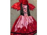 Dead little red riding hood halloween costume