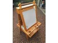 Easel - blackboard and whiteboard child's easel