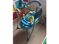 Graco musical electronic swinging chair