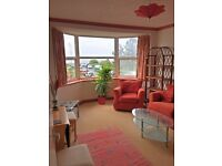 1-bedroom flat with sea view in Onchan for rent