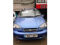 Chevrolet Tacuma Sx, 2007, 1.6cc, low mileage, long mot.