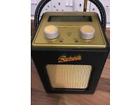 Black Roberts Revival DAB/FM Radio immaculate £139.99 brand new
