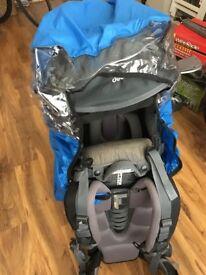 Deuter Kid Comfort 3 Child Backpack Carrier & Rain Cover