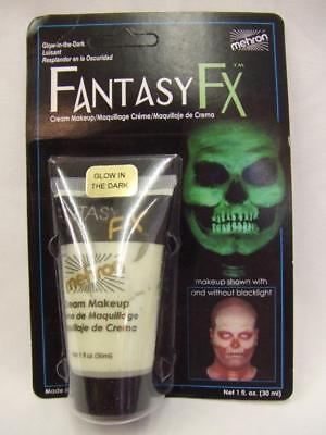 Glow in the Dark Face Paint Fantasy FX UV Blacklight  Halloween make-up Mehron (Halloween Fantasy Make Up)
