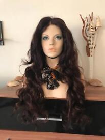"22"" Brazilian Full Lace Wig, Auburn tones- SALE NOW ON"