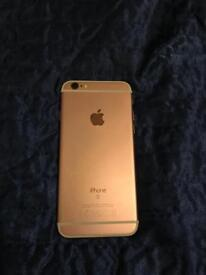 iPhone 6S, rose gold, 64GB, o2 great condition