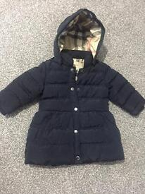 GIRLS BURBERRY JACKETS (VARIOUS SIZES AVAILABLE)