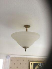Art Deco Style Ceiling Light (uplighter)