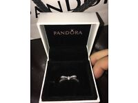 Pandora rings and a charm