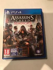 assassins creed syndicate , ps4 , as new ! price stands , no offers !