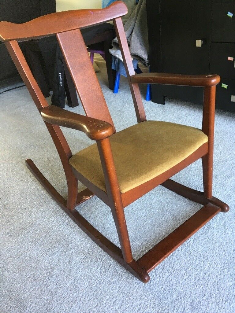 Admirable Parker Knoll Vintage Childs Rocking Chair In Blackpool Lancashire Gumtree Machost Co Dining Chair Design Ideas Machostcouk