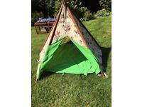 Cowboy wigwam teepee tent