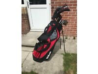 Wilson golf club set and stand bag
