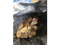 10 x Bags of Free Rubble, Hardcore, Broken Bricks, Rocks, Can collect today