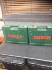 2 x cordless Bosch drills spares or repair