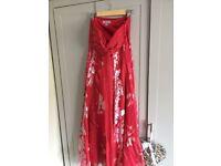 Monsoon silk formal / bridesmaid / prom dress size 8 dress