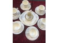 Royal doulton china tea set