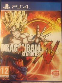 Dragonball XV Xenoverse PS4 game