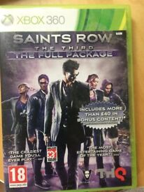 box 360 game Saints Row The Third The Full Package
