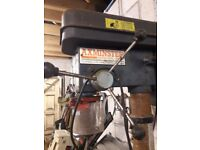 Axminster pillar drill