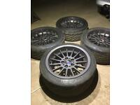 Bmw style 32 alloys and tyres