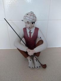 Novel Golf Character Decoration