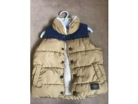 Boys next fleece gillet aged 1 1/2 to 2 years