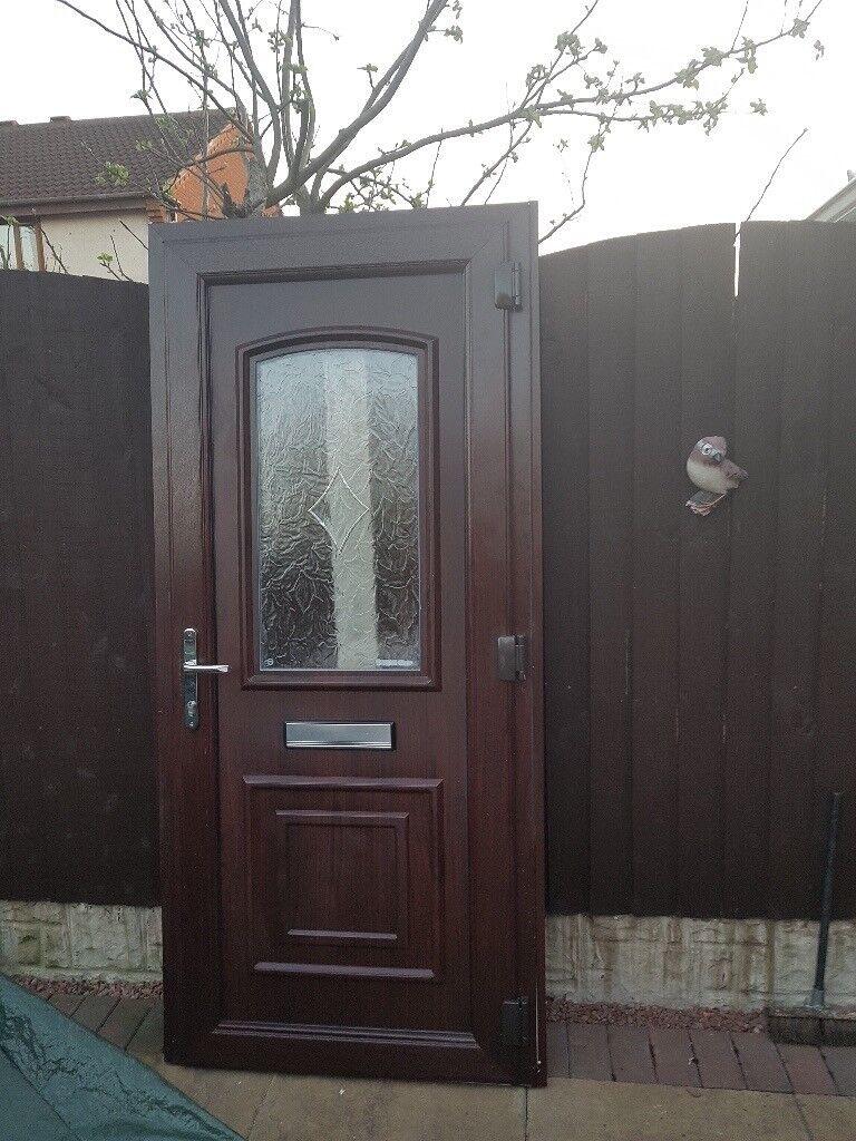 Upvc External Front Door Amp Frame In Wolverhampton West