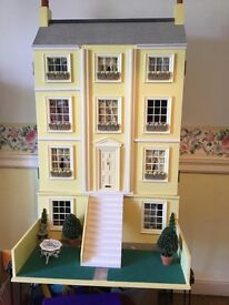 Collectible large dolls house with lots accessories