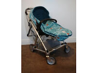 Mamas and Papas limited edition Fox cover pram with cosytoes and raincover, Donna Wilson Urbo2