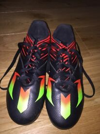 Adidas Messi football boots uk size 5