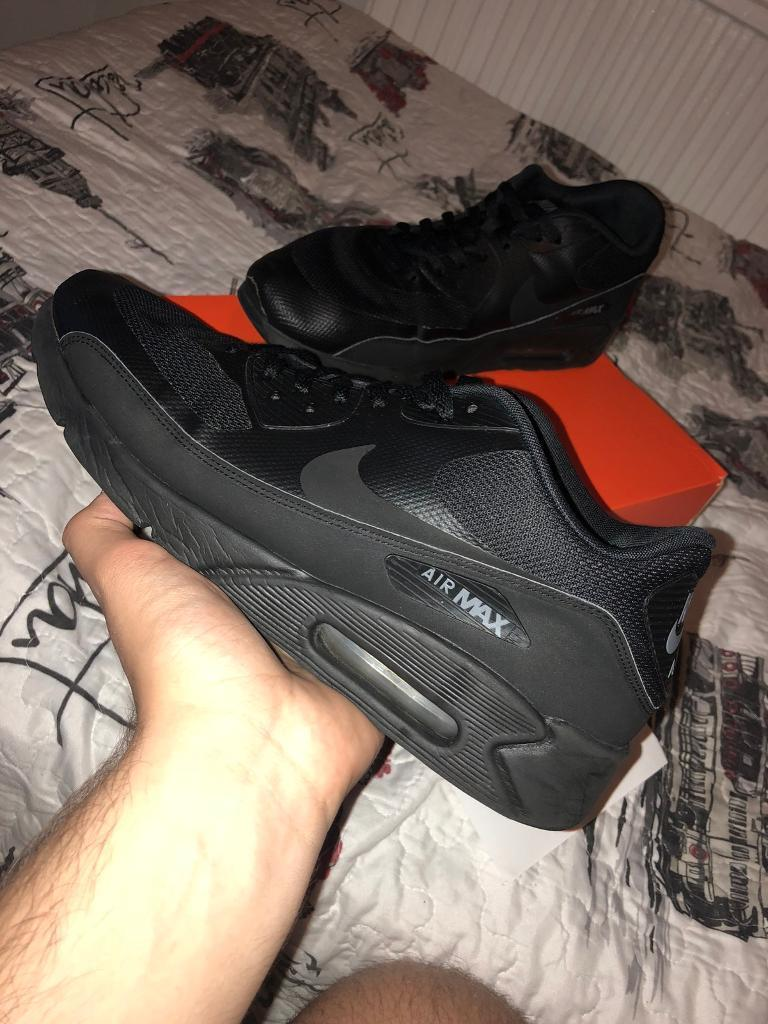 buy online 30fe2 fdb54 Air Max 90 Black Size 12UK Excellent Condition | in City of London, London  | Gumtree
