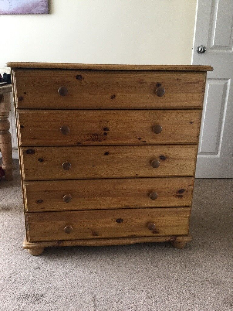 Pine Bedroom Furniture Good Condition Also Good For Shabby Chic Project In Felixstowe Suffolk Gumtree
