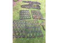 Garden pond safety grid mesh