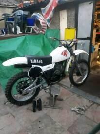 Yamaha yz 400 2x5 1979