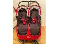 TWIN Baby Jogger City Mini Stroller Double buggy / pram / VERY GOOD condition.