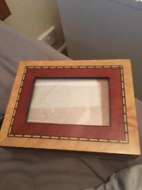Photo frame jewellery box
