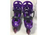 Bratz inline skates adjustable size 3-5. Worn (light use). £6.00