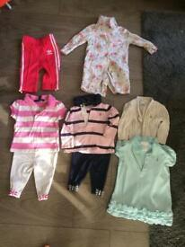 Designer baby girl clothes 3-6 months